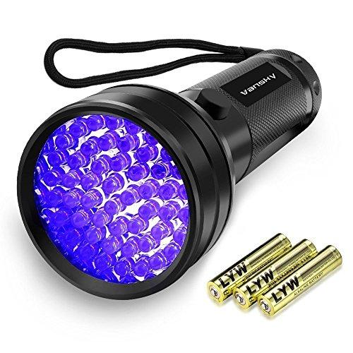 Vansky51LED 紫外線ブラックライト UVライト レジン用硬化ライト ...