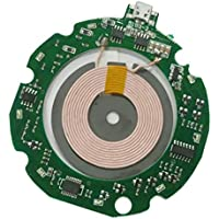 perfk 10W 無線 充電器 DIY PCBA 回路基板 コイル付き ワイヤレス 充電 パッド 過電流保護