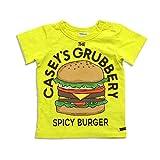 BREEZE(ブリーズ) ジャンクフードプリントTシャツ ライム 140cm