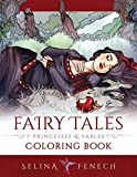 Fairy Tales, Princesses, and Fables Coloring Book (Fantasy Coloring by Selina) 画像