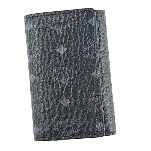 MCM エムシーエム 3 FOLD KEY WALLET キーケース ブラック MXK6AVI34 [並行輸入品]