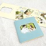 スクラップカード/シュエット【全3色】[色紙/寄せ書き/三つ折り] ネイビー