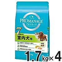 プロマネージ 7歳からの室内犬用 1.7kg×4個【まとめ買い】