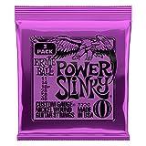 【正規品】 ERNIE BALL ギター弦 パワー (11-48) 3セットパック 3220 POWER SLINKY 3SET PACK