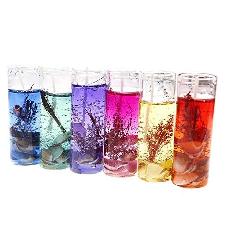 カメラスローガン意図する透明クリスタルゼリーキャンドルクリエイティブPainted smoke-freeワックステーブルロマンチックScented Candleメーカー卸売