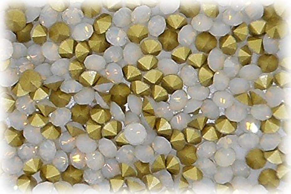永遠に過度の散逸ラインストーン ホワイトオパール 1セット(80個入り)X3 サイズ約2.4mm who-ss8