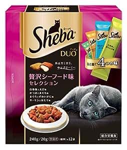 マ-スジヤパンリミテッド シーバ デュオ 成猫用 贅沢シーフード味セレクション 240g