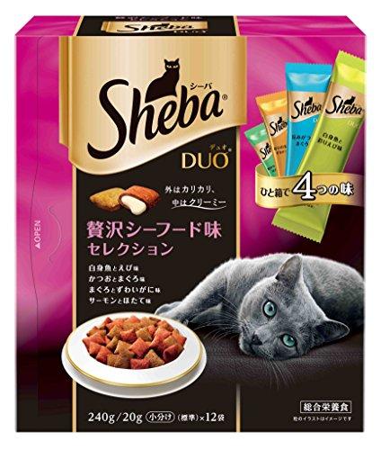 シーバ (Sheba) デュオ 贅沢シーフード味セレクション...