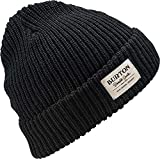 Burton(バートン) スノーボード ニット帽 ビーニー ニットキャップ BURTON VT. BEANIE 1SZ FITALL True Black 176581