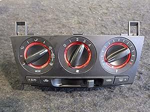 マツダ 純正 アクセラ BK系 《 BK5P 》 エアコンスイッチパネル P20400-14016820