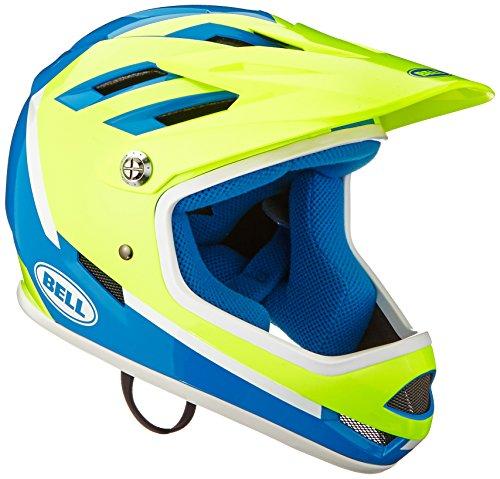 BELL(ベル) ヘルメット 自転車 サイクリング フルフェイス BMX SANCTION [サンクション フォースブルー/レティーナシア アサシン M] 7078718 7078718 M