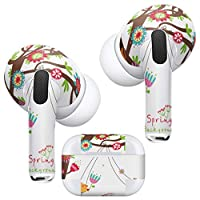 igsticker AirPods Pro 専用 デザインスキンシール airpodspro エアポッド プロ apple アップル イヤホン カバー デコレーション アクセサリー デコシール 005548 ユニーク 動物 イラスト