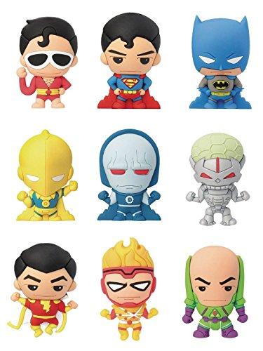 DCコミックス/ レーザーカット フィギュラル・キーリング スーパーパワーズ: 24個入りボックス