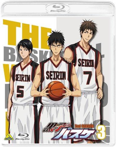 黒子のバスケ 2nd SEASON 3 [Blu-ray]の詳細を見る