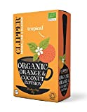 クリッパー オーガニック オレンジ&ココナッツティー (エコ ティーバッグ)