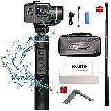 Feiyu Tech G6 3軸スタビライザー ジンバル ジンバル カメラ 生活防水 Gopro Hero 6/5 アクションカム対応(三脚スタンドと延長ポール) [並行輸入品]
