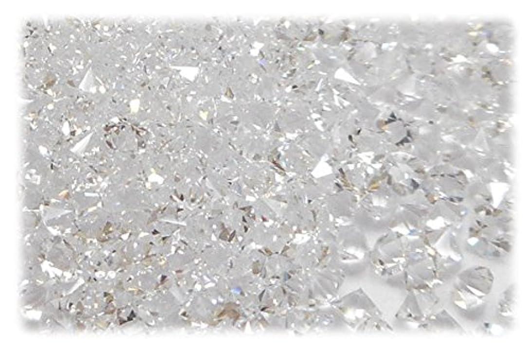 粘土オリエント薄いSHAREKI CRYSTAL Vカット (チャトン) ホイル無し ラインストーン クリスタル ss3 約10グロス(1440個) nh_crystal