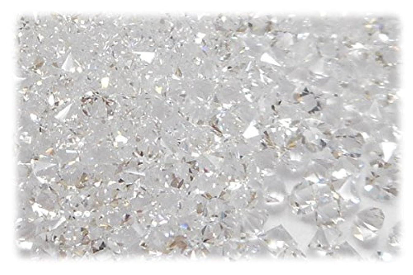 狂乱冷凍庫ドリルSHAREKI CRYSTAL Vカット (チャトン) ホイル無し ラインストーン クリスタル ss3 約10グロス(1440個) nh_crystal