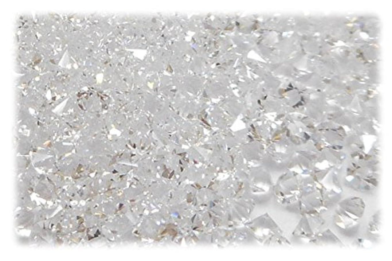 プライム早く暴露SHAREKI CRYSTAL Vカット (チャトン) ホイル無し ラインストーン クリスタル ss3 約10グロス(1440個) nh_crystal
