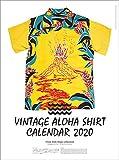 ビンテージアロハシャツ 2020年 カレンダー 壁掛け CL-537