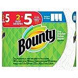 Bounty select-a-size紙タオル、ホワイト、8Huge Rolls 画像