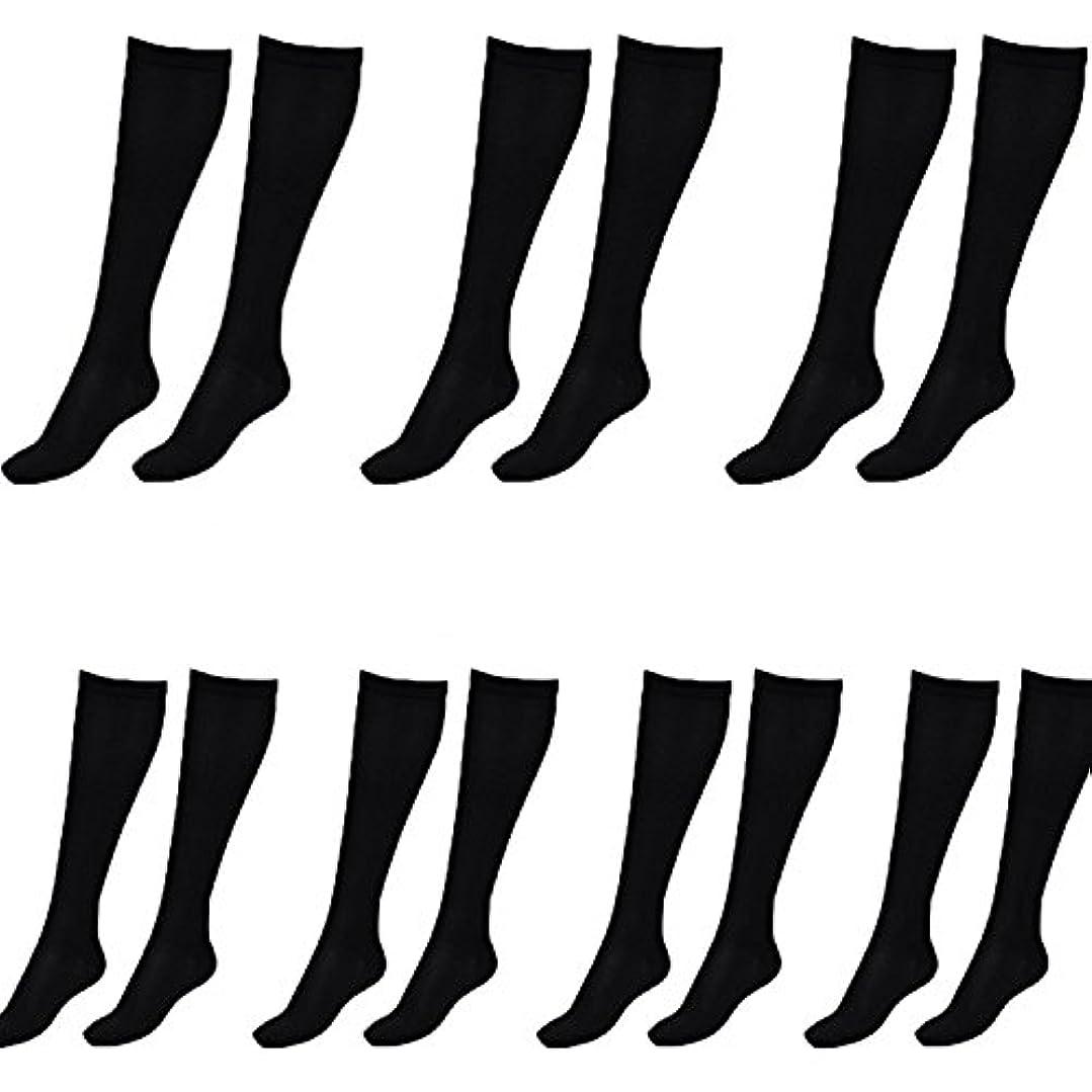 感情貴重な芝生美脚X ビキャックス 強圧補正ソックス レディース 7足セット 着圧 ソックス 引き締め 伸縮 靴下