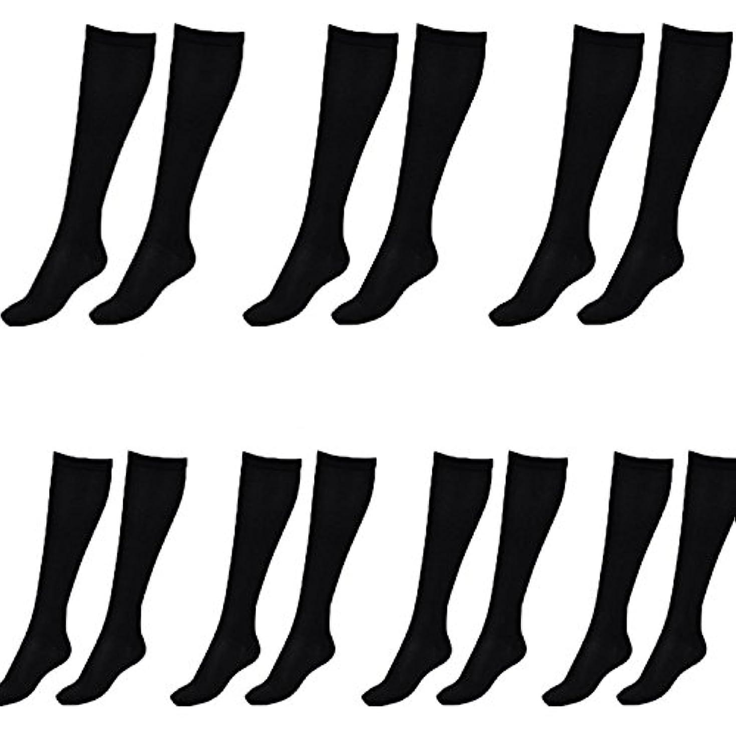 レクリエーションアプローチスクリュー美脚X ビキャックス 強圧補正ソックス レディース 7足セット 着圧 ソックス 引き締め 伸縮 靴下