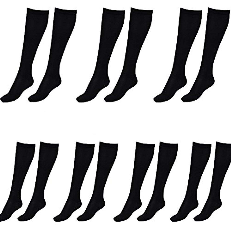 匿名週間に関して美脚X ビキャックス 強圧補正ソックス レディース 7足セット 着圧 ソックス 引き締め 伸縮 靴下