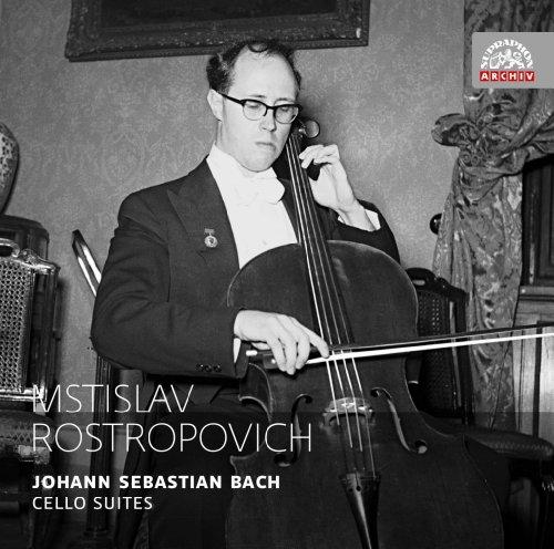 J.S. バッハ:無伴奏チェロ組曲 (全6曲) BWV 1007-1012 (Johann Sebastian Bach : Cello Suites / Mstislav Rostropovich) [2CD] [輸入盤・日本語解説書付]