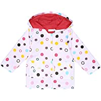 Arshiner Girl Kid Rain Jacket Hooded Outwear Raincoat