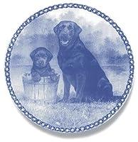 デンマーク製 ドッグ・プレート (犬の絵皿) 直輸入! Labrador Retriever / ラブラドール・レトリーバー