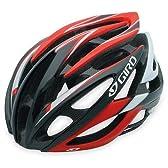 GIRO(ジロ) アトモス(ATMOS) RED/BLACK レッド/ブラック Mサイズ55-59cm JCF公認ヘルメット