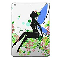第1世代 iPad Pro 12.9 inch インチ 共通 スキンシール apple アップル アイパッド プロ A1584 A1652 タブレット tablet シール ステッカー ケース 保護シール 背面 人気 単品 おしゃれ ラブリー 人物 妖精 花 フラワー 006293