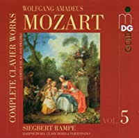 Complete Clavier Works by W.A. Mozart