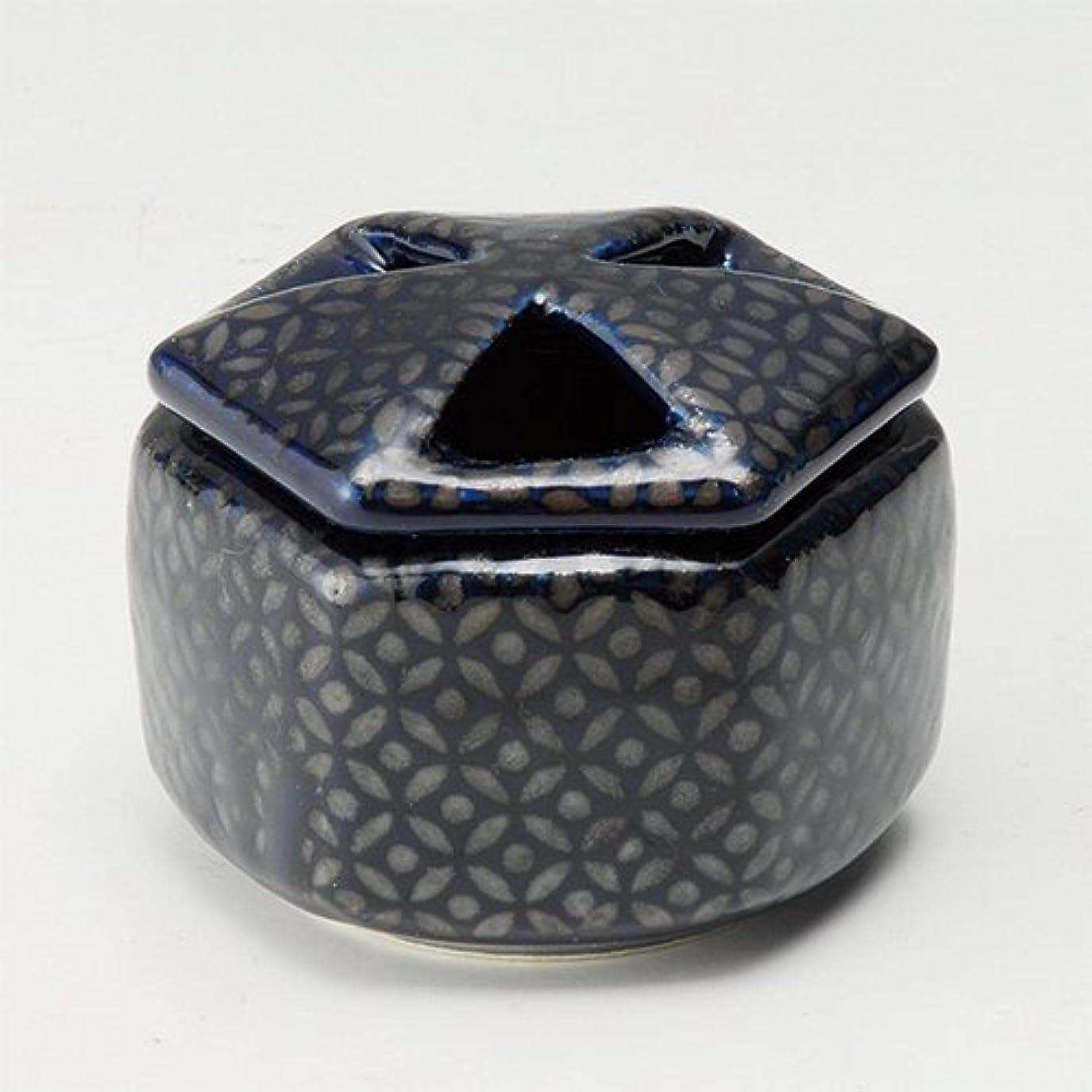 カンガルー攻撃下る香炉 瑠璃七宝 六角香炉 [R8.8xH6.5cm] プレゼント ギフト 和食器 かわいい インテリア