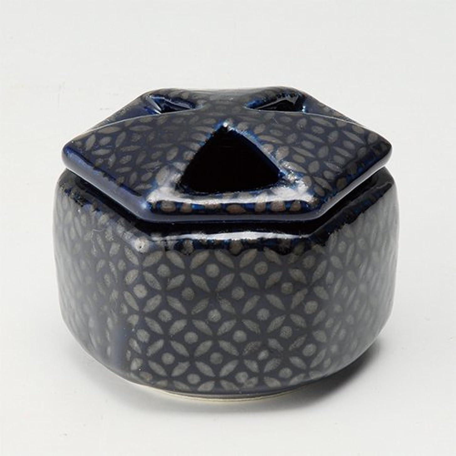 仲人鍔球状香炉 瑠璃七宝 六角香炉 [R8.8xH6.5cm] プレゼント ギフト 和食器 かわいい インテリア