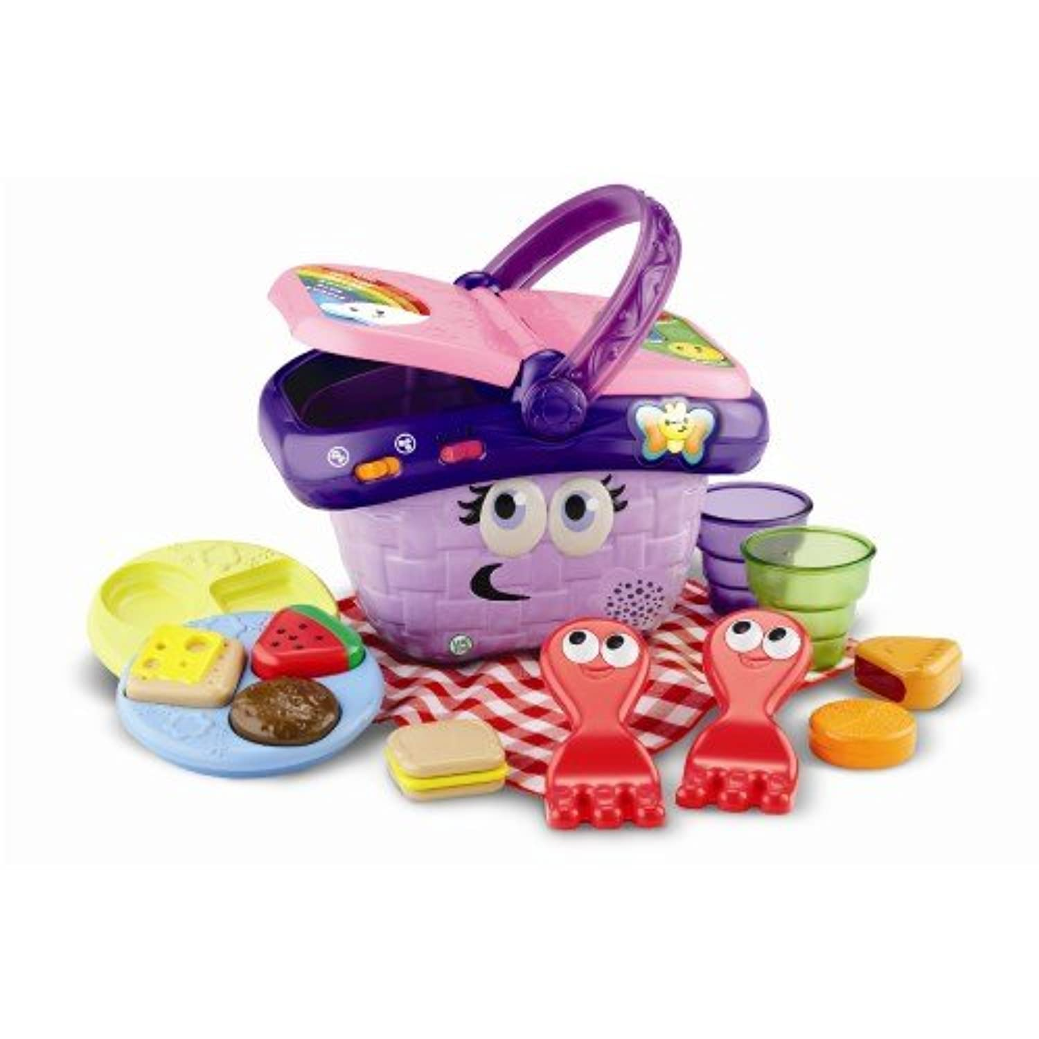 leapfrog - Shapes And Sharing Picnic Basket