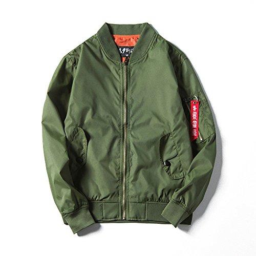 f8374f746912aa ブルゾン ミリタリー ジャケット メンズ ma1 風 アーミー 防風 防寒 ハーフコート アウター(NAIL39) (