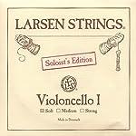 Larsen Soloist 4/4 Cello A String Soft Alloy-Steel 【TEA】 [並行輸入品]