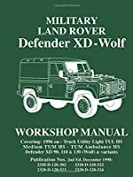 Military Land Rover Defender XD Wolf Work Manual