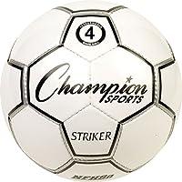 幼児用サッカーボール、Champion Strikerサイズ4ユースサッカーボールレディースメンズキッズ