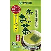 お~いお茶 緑茶カップ用 ティーバッグ 20袋入