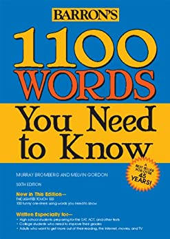 [Bromberg, Murray, Gordon, Melvin]の1100 Words You Need to Know