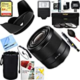 Sony ( sel28F20) FE 28mm f2e-mountフルフレームプライムレンズ+ 64GB究極フィルタ&フラッシュ写真バンドル