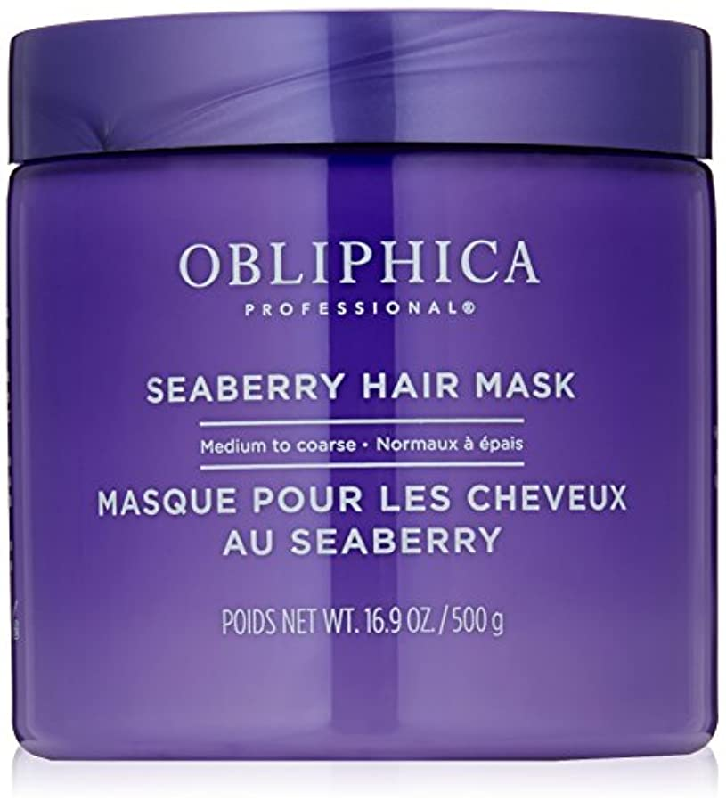 履歴書特徴づける最高Obliphica Professional 粗Seaberryマスクにミディアム、16.9オンス