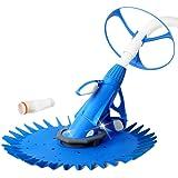 Aquabuddy Swimming Pool Cleaner Automatic Pool Vacuum-Blue