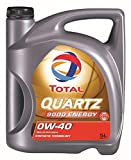 TOTAL ( トタル ) エンジンオイル【QUARTZ 9000 ENERGY】0W-40 5L 195283【HTRC3】