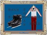 JC1B ヴィクトルニキフォロフ ユーリ!!! YURI ON ICE 衣装+靴