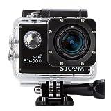 「SJCAM正規品」 SJ4000 スポーツカメラ アクションカメラ WIFI 1080P 12MP HD動画対応 1.5インチ液晶画面 170度超広角レンズ 30M防水 バイク/自転車/車に取り付け可能 なコンパクトカメラ