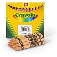 Crayola Bulkクレヨン、レギュラーサイズ – ピーチ、12のパック